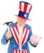 Uncle Sam Desperate for Cash