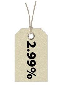 label isolated on white background